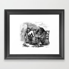 Dr. Crowley's Experiment  Framed Art Print