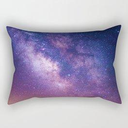 Sky at Night (Color) Rectangular Pillow