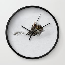 The groundhog said what Wall Clock