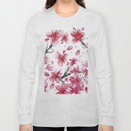 Cherry Blossoms #society6 #buyart Long Sleeve T-shirt