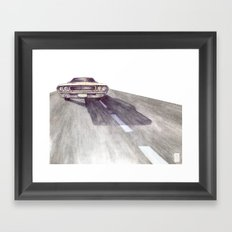 Lost Highway pt.4 Framed Art Print
