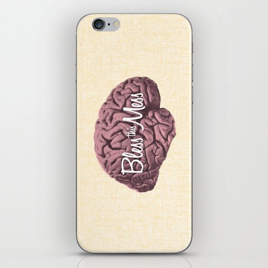 Bless this Mess. iPhone & iPod Skin