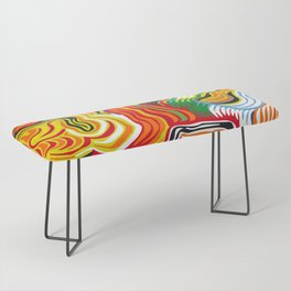 colored flow Bench