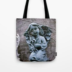 Little blue angel Tote Bag