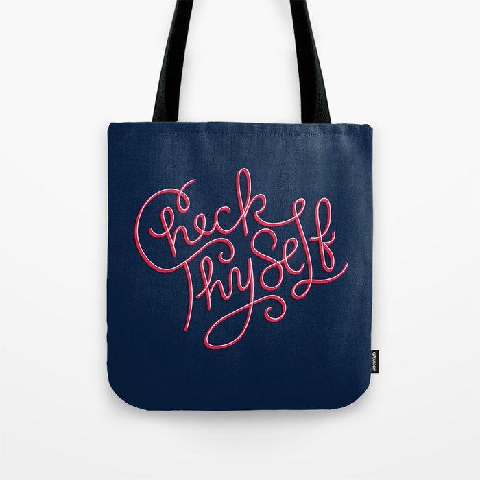 Check Thyself Tote Bag