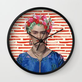 FREE FRIDA Wall Clock