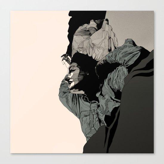 N. Canvas Print