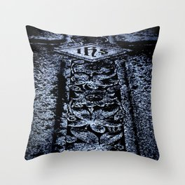 Sturm Gothic into the Darkness Cross Throw Pillow
