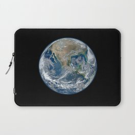 Planet Earth from Space Laptop Sleeve