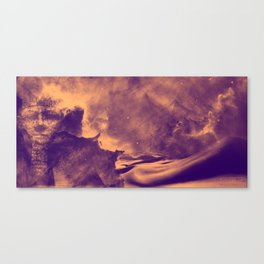 Sands of the Cosmos - Tan Canvas Print