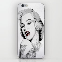 Marilyn Vamp iPhone Skin