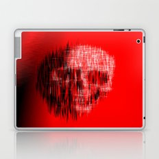 Etched Skull Laptop & iPad Skin
