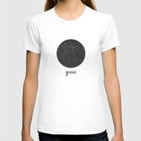 gemini T-shirts featuring Gemini by snaticky