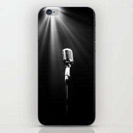 Classic Microphone iPhone Skin