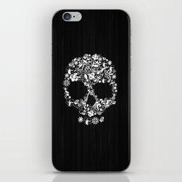Floral Skull iPhone Skin