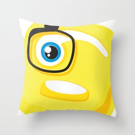 Oh ! Throw Pillow
