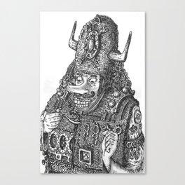 Capt. Soup Canvas Print