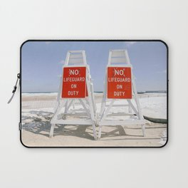 No Lifeguard on Duty Laptop Sleeve
