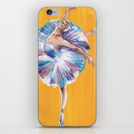 Vibrant Ballet Dancer iPhone Skin