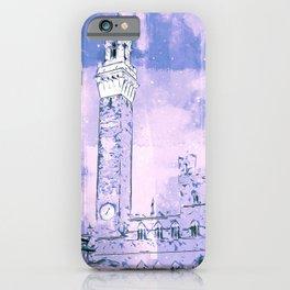 Siena, Piazza del Campo iPhone Case