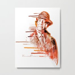 The Blacklist - Raymond Reddington Metal Print