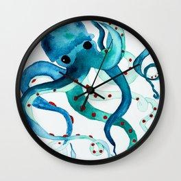 Happy Octopus Wall Clock
