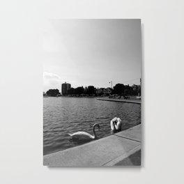 Canoe Lake - Portsmouth & Southsea Metal Print