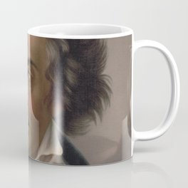 Vintage Portrait of Ludwig van Beethoven (1870) Coffee Mug