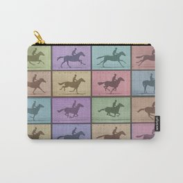 Time Lapse Motion Study Horse Color Carry-All Pouch