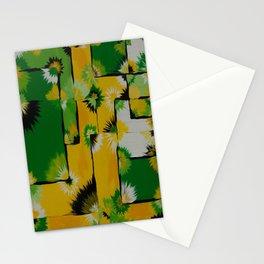 Lemon Lime Blossom Query Stationery Cards
