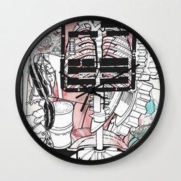 Broken Parts Wall Clock