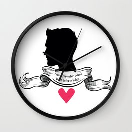 Derek Hale - A predator, not a killer. Wall Clock