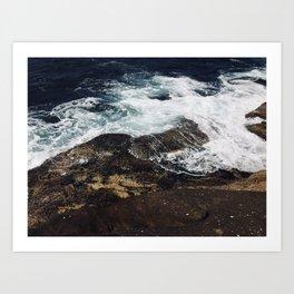 Beautiful waves at Clovelly Beach, NSW, Australia Art Print