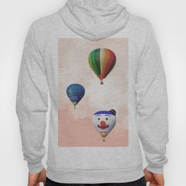 Happy hotair balloons with cotton candy Hoody