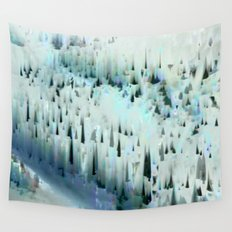 White Landscape / Snow Wall Tapestry