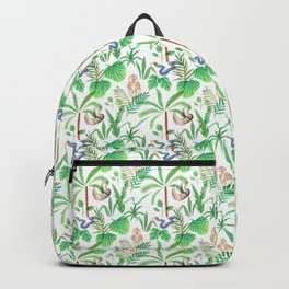 jungle lifestyle pattern Backpack