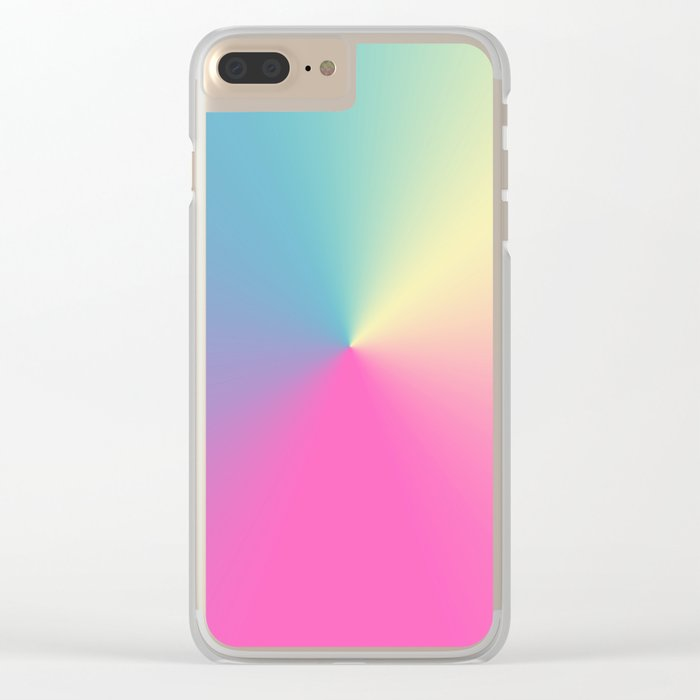 Carnival 3 Clear iPhone Case