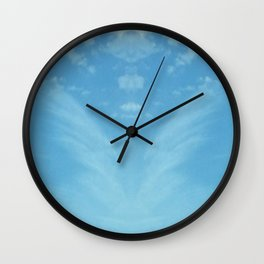 Watching from Above Wall Clock