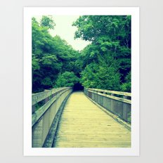 Into the Adventure Art Print