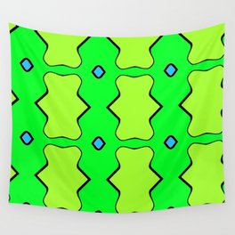 Green on Green 2 Wall Tapestry