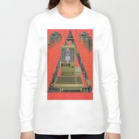 contact Long Sleeve T-shirts featuring CONTACT by N3GATIVE CR33P