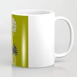 Tropical Fronds Monstera Design Coffee Mug