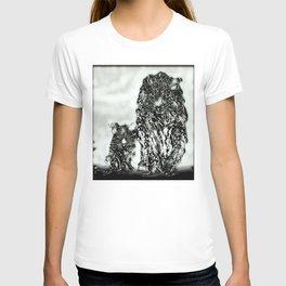 Big Cat Models: Magnified Snow Leopard and Cub 01-04 T-shirt