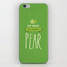 The perfect pear iPhone & iPod Skin