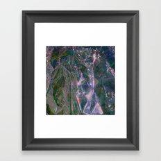 Materia B Framed Art Print