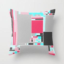 Red Mint Throw Pillow