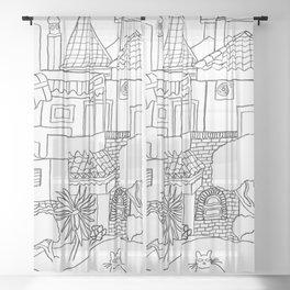Garden Of Malaga Sheer Curtain