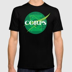 For The Corps SMALL Mens Fitted Tee Black