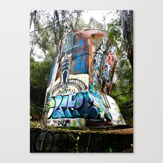 Sick Silo Canvas Print