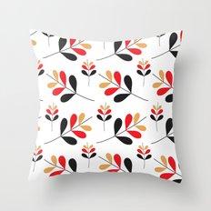 Fall Bloom Throw Pillow
